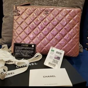 CHANEL MEDIUM O CASE SIZE M CRUMPLED